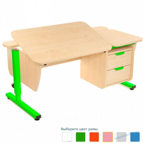 Письменный стол Школьник с тумбой на 2 ящика