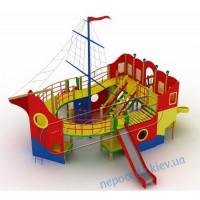 Детский комплекс Пираты на Корабле для площадки