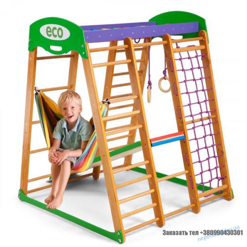 Детский спорткомплекс для дома «Карапуз» 150см с горкой