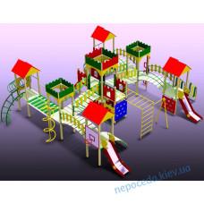Игровой комплекс мультибашенный Забава-11