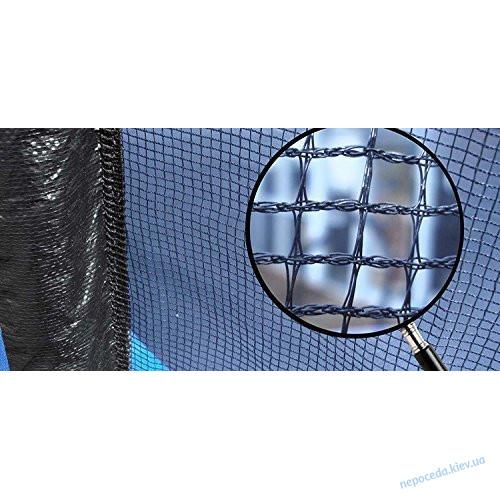 Батут 465см с защитной сеткой и лестницей