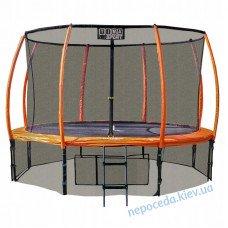 Батут Premium (14 Ft) 430 см Tima Sport orandg с внутренней сеткой