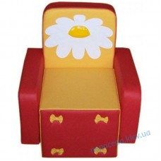 Детское кресло Бантик с аппликацией (цвета в ассорт.)