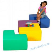 Модульные сидения-столик Геометрия детские