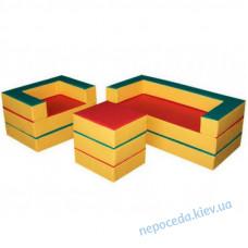 Детский комплект мебели-трансформер Маты