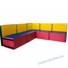 Детский модульный диван Уют (разборной)