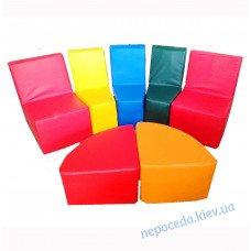 Набір дитячих меблів Півколо (кожзам)