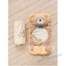 Спальний плед-конверт Котик для дітей (є розміри)