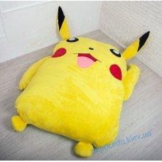 Детская мягкая игрушка кровать Пикачу (S)