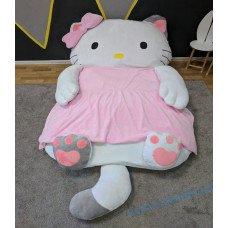 Детская мягкая кровать матрас Игрушка Кити S
