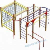 Гимнастический комплекс «Динамо» с канатными лазами