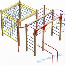 Гімнастичний комплекс «Динамо» з канатними лазами