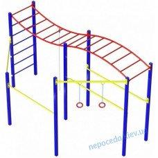 Гимнастический комплекс «Волна» без баскетбольного кольца