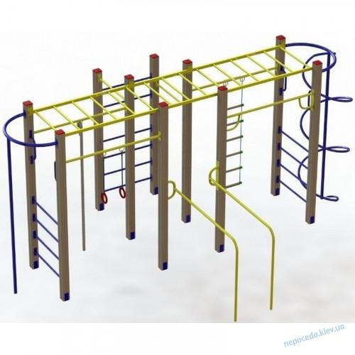 Гімнастичний комплекс «Друзі» для вулиці