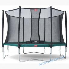 Батут BERG Favorit 430 і Сітка безпеки Comfort