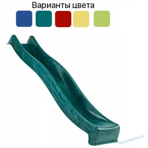 Дитяча гірка пластикова 3 м спуск