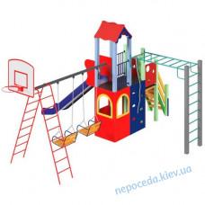 Детский комплекс Лидер 1,5 м с баскетбольным кольцом