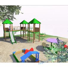 Детская игровая площадка проект №3