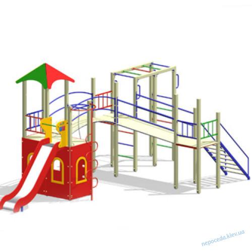 Детская площадка Дартаньян спортивно-игровая