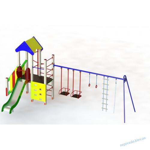 """DIO712.2 Уличный детский игровой комплекс """"Енотик плюс"""""""