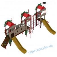 Детская спортивно игровая площадка Дубок-3