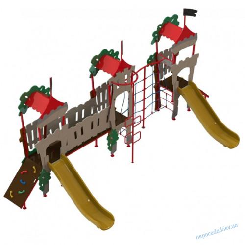 DIO 763.2 Детская спортивно игровая площадка Дубок-3 в линию