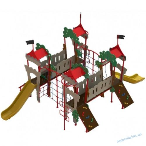 DIO 764 Детская площадка в виде башни спортивно игровая Дубок-4