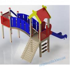 """Уличный  игровой комплекс """"Коротышка"""" для детей"""