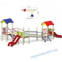 Детская площадка Гусеничка