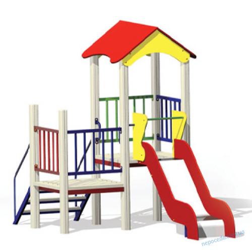 Игровой комплекс для малышей КМ-1-1 для  улицы в детский садик