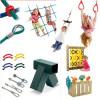 Оборудование и комплектующие для детской площадки