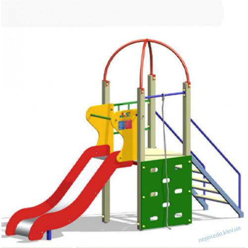 Игровая горка для детей Мурашка