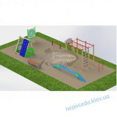 Дитячий майданчик PG13 із спортивними комплексами