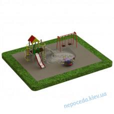 Дитячий майданчик PG3. Ігрове обладнання Гойдалки Горки Комплекс