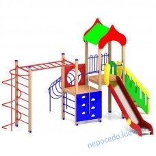 """Дитяча ігрова площадка """"Радість"""" з гіркою 150 см"""
