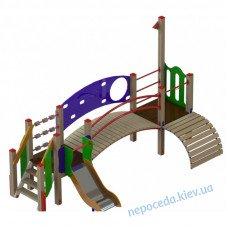 """Дитячий майданчик для малят """"Леонардо"""" з містком"""