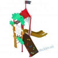 Малогабаритный игровой комплекс для малышей Дубок