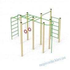"""Детский спортивный элемент """"C1"""" с турником для площадки"""