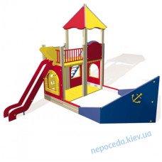 Кораблик на детскую игровую площадку