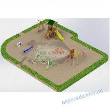 Детская площадка PG21 набором игрового оборудования