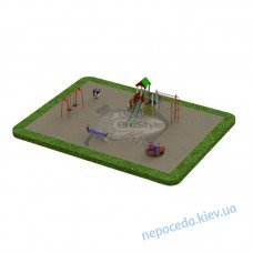 Детская площадка PG7 во двор. Игровое оборудование, комплексы и качели