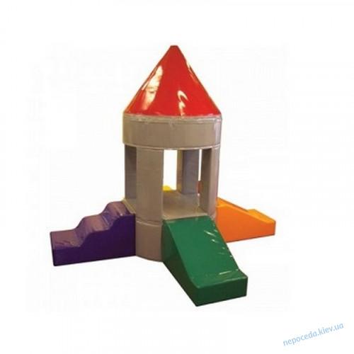 Мягкие игровые модули Башня в детскую комнату KIDIGO