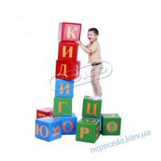 Дитячі ігрові кубики Алфавіт дидактичні