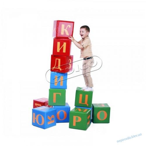 Детские игровые кубики Алфавит дидактические