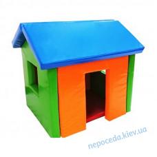 Будиночок в м'які ігрові кімнати для дітей