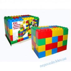 Детский конструктор крупный строительный XXL