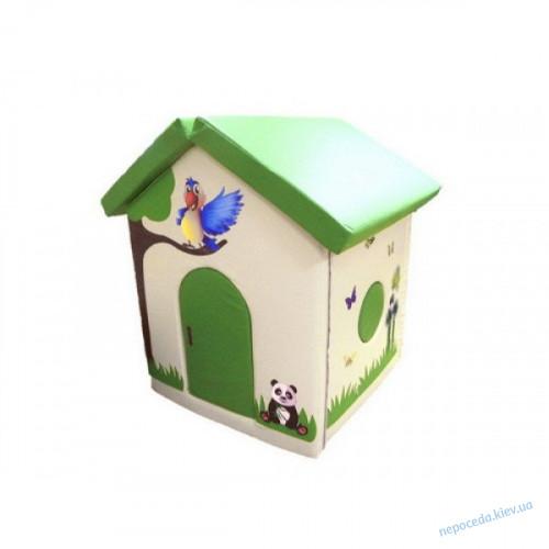 Детский мягкий домик Попугайчик в игровую комнату