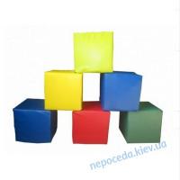 Модульный набор Кубики из кожзама