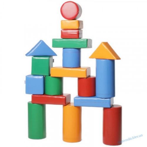 Модульный детский конструктор «Строитель - 4 Мини»
