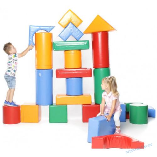 Детский конструктор Строитель 3 из модулей